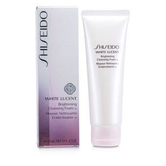 Harga Shiseido White Lucent Brightening Cleansing Foam W 125ml/4.7oz