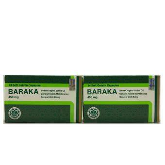 Harga BARAKA 450mg Soft Gel 24'S (2 Packet)