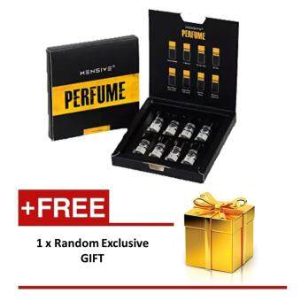 Harga MENSIVE Perfume Set ***3 ml per bottle*** ***8 Fragrances*** with extra gift