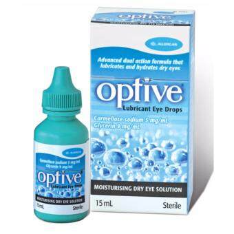 Harga (TWIN PACK) Allergan Optive Lubricant Eye Drops 15ml