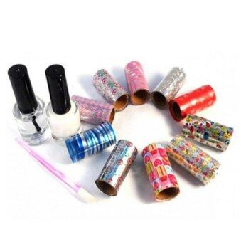 Harga As Seen on TV Salon Style Nail Foil Kit Designer for Nails