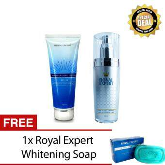 Harga ROYAL EXPERT SPF35 DAY CREAM+ROYAL EXPERT BODY LOTION SPF25+ FREE GIFT+FREE POSTAGE