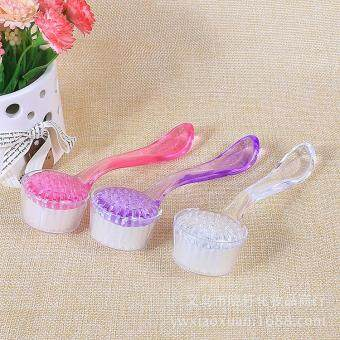 Harga Superfine soft wool wash brush hand-made cleansing make-up beauty tools