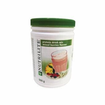 Harga Amway NUTRILITE™ Protein Drink Mix Berries Flavour (500g) - 1 Bottle