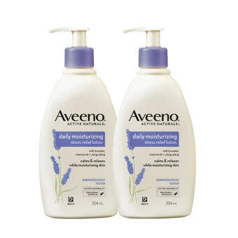 Harga Aveeno Daily Moisturizing Stress Relief Lotion (354ml x 2)