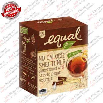 Harga Equal Natural Stevia (Natural Sweetener for Diabetes) 40's/ Box