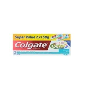 Harga Colgate Total Advanced Fresh Anticavity Toothpaste 2 x 150g