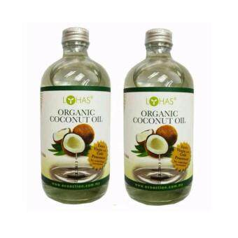 Harga {Twin Pack}~LOHAS Organic Coconut Oil (Extra Virgin) 480ml