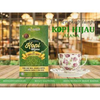 Harga Alana Kopi Hijau - Green Coffee - 2 unit