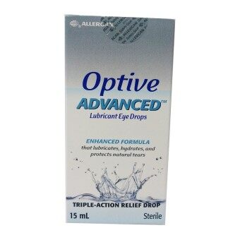 Harga Allergan Optive ADVANCED Eye Drops 15ml