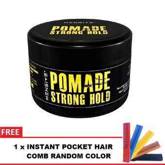 Harga [NEW] Mensive POMADE Strong Hold Hair Style 150g