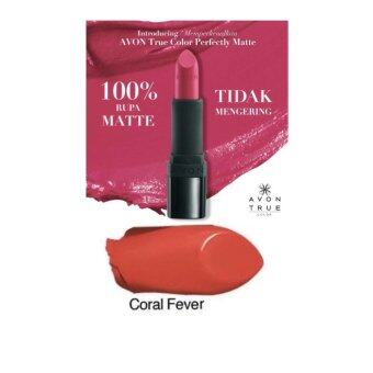 Harga Avon Perfectly Matte Lipsticks - Coral Fever