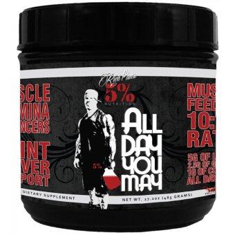Harga 5% Nutrition Rich Piana - All Day You May (30 SERVING) Watermelon