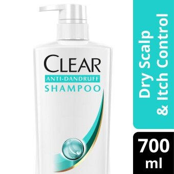 Harga Clear Dry Scalp & Itch Control Anti-Dandruff Shampoo 700 ml