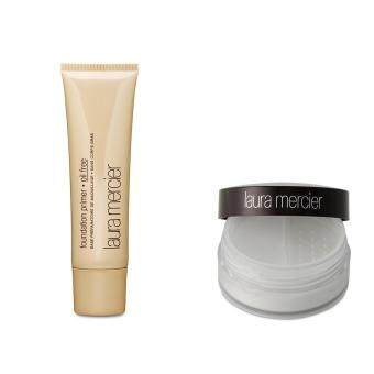 Harga Laura Mercier Loose Setting Powder + Foundation Primer - Oil Free SET 2PCS
