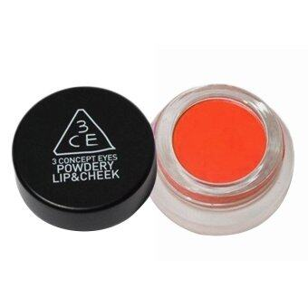 Harga 3CE Powdery Lip & Cheek (Tibet Orange)