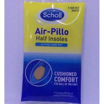 Harga Scholl Air-Pillo Half Insoles 1 Pair