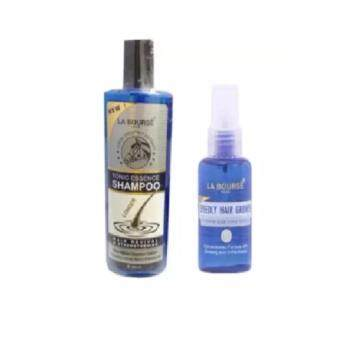 Harga La Bourse Tonic Essence Shampoo 300 mL & La Bourse Speedy Hair Nourishing Tonic Essence 45 mL
