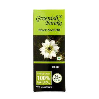 Harga Greenish Baraka Black Seed Oil 100ml
