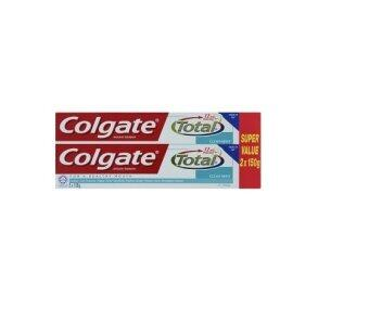 Harga Colgate Total Clean Mint Anticavity Toothpaste 2 x 150g