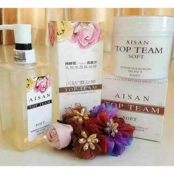 Harga AISAN TOP TEAM 2Shampoo + 2Hair MASK (2SET) ( 100%Authentic)