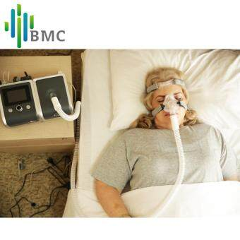 Harga BMC GII CPAP Device Portable Quiet Respirator With Nasal Mask Humidifier Filter Plastic Hose Bag The Best Sleep Snoring Solution