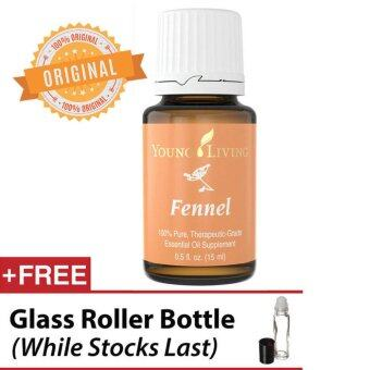 Harga Young Living * Fennel Essential Oil 15ml (Free Roller Bottle)