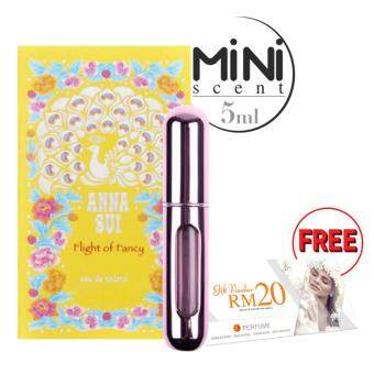Harga SD 5ml Mini Scent -Pink : Anna Sui Filght OF Fancy EDT + FREE RM20 SD Voucher