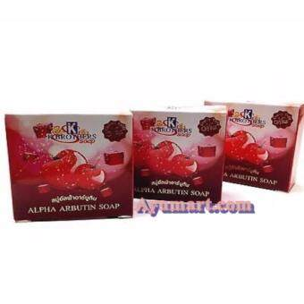 Harga K Brothers Alpha Arbutin Soap ( 3 Pcs)