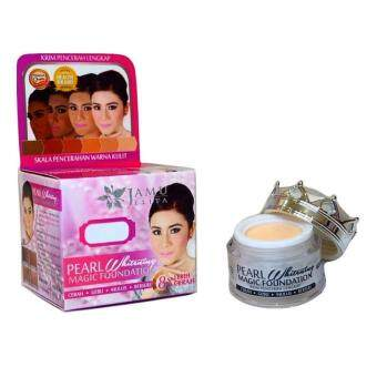 Harga Jamu Jelita Pearl Whitening Magic Foundation