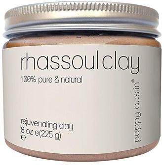 Harga Poppy Austin 100% Organic Rhassoul Clay Hair and Facial Mask