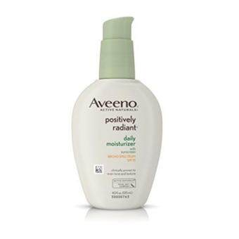 Harga Aveeno Positively Radiant Daily Moisturizer With Sunscreen Broad Spectrum Spf 15, 4 Oz