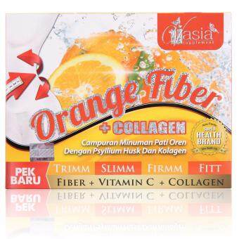 Harga V Asia Orange Fiber +Collagen