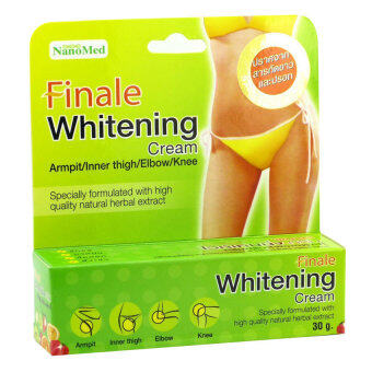 Harga NanoMed Finale Whitening Cream 30g