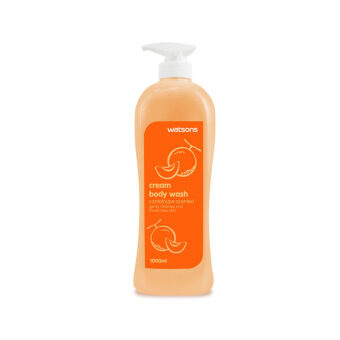 Harga WATSONS Cantaloupe Scented Cream Body Wash 1l