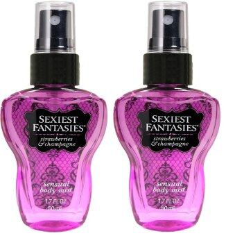 Harga Sexiest Fantasies Strawberries & Champagne 50ml 2's