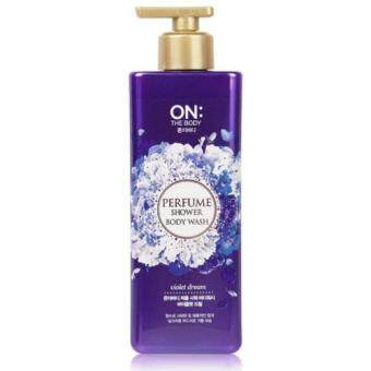 Harga ON THE BODY Perfume Shower Body Wash - Violet Dream 500g
