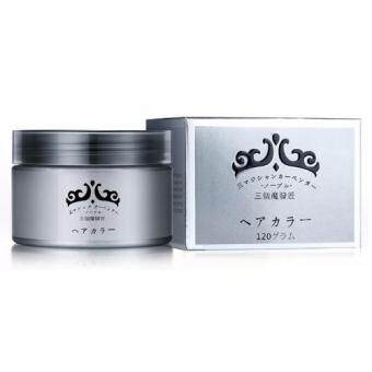 Harga Washable Hair Coloring Ash Wax 120g - Grey