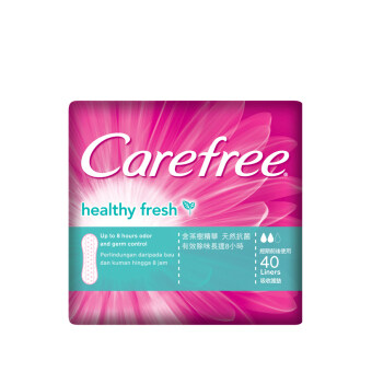 Harga CAREFREE Healthy Fresh Pantyliner 40s