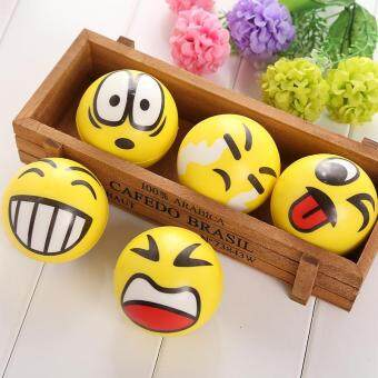 Harga Smiley Ball Smiley Stress Ball Smiley Squeeze Ball Anti Stress Toys Random