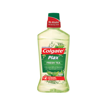 Harga COLGATE Plax Mouthwash Fresh Tea 750ML