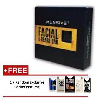 Harga Mensive Facial & Beard Bar Soap (100gram)