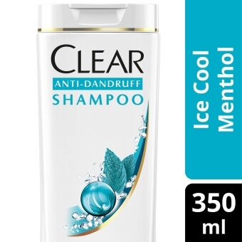 Harga Clear Ice Cool Menthol Anti-Dandruff Shampoo 350 ml