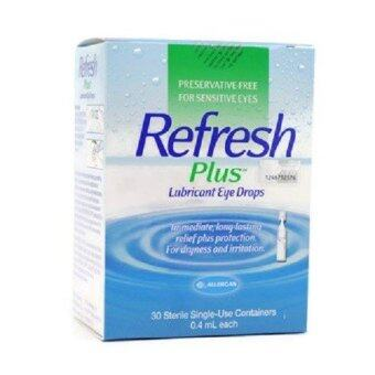Harga Allergan Refresh Plus Eye Drops 30 vials x 0.4ml