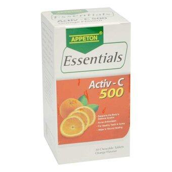 Harga Appeton Essentials Vit C 500Mg 30S