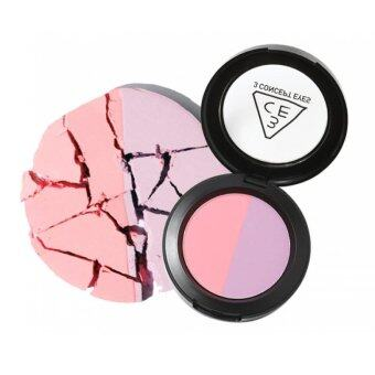 Harga 3CE Duo Color Face Blush (Creme De Violette)