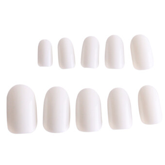 Harga Yingwei 600Pcs Artificial Nails Beauty Nail Jewelry DIY Nail Tips (White)