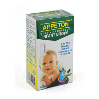Harga APPETON Multivitamin Plus Infant Drop 30ml