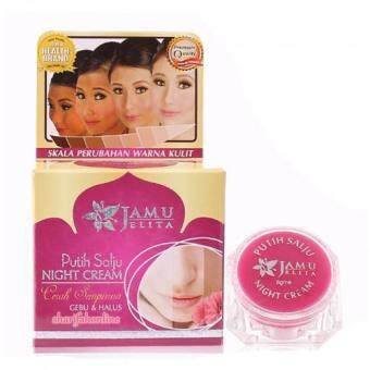 Harga Jamu Jelita Snow White Night Cream