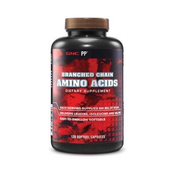 Harga GNC Pro Performance® Branched Chain Amino Acid (BCAA) 120 Softgel Capsules